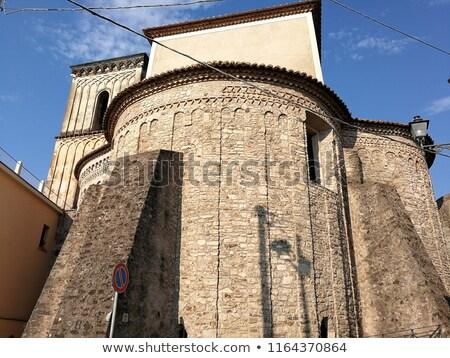 Olaszország kilátás kastély épület építészet Európa Stock fotó © Photooiasson