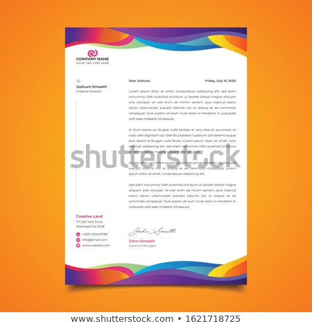 Creative бизнеса брошюра листовка вектора дизайна Сток-фото © SArts