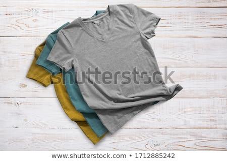 Szary włókienniczych tkaniny tekstury bawełny Zdjęcia stock © dolgachov