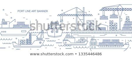 Sailing Ship at Port Stock photo © smartin69