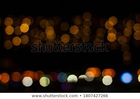 Fekete csillámlás karácsony fesztivál háttér tapéta Stock fotó © SArts