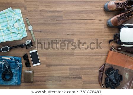 Kleurrijk grijs muur exemplaar ruimte Stockfoto © make