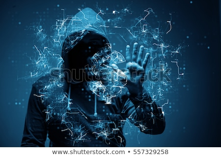 Online hacker steals money from computer Stock photo © studiostoks