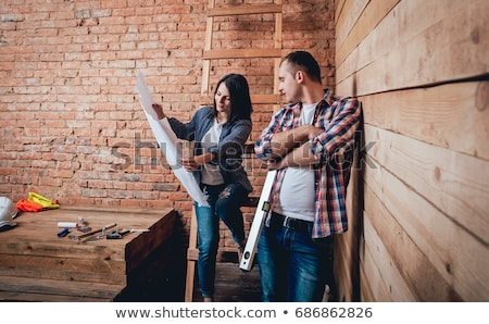 Young couple renovating Stock photo © IS2