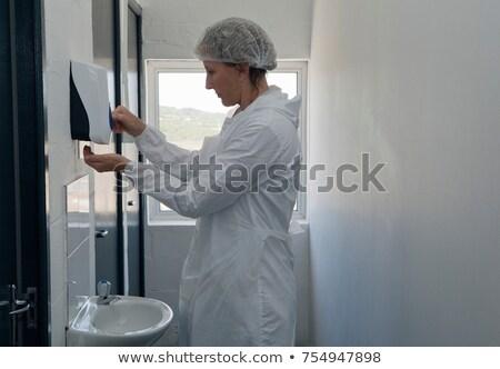 mão · sabão · médico · médico · saúde - foto stock © is2