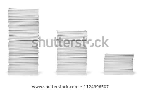 Paper Stack Stock photo © devon