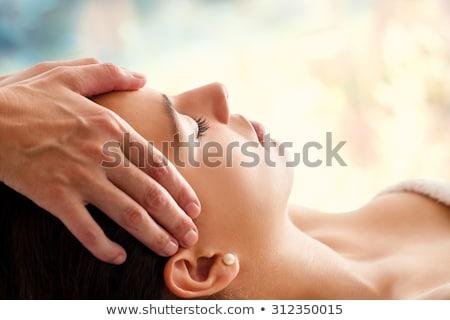 女性 · 首 · マッサージ · 医療 · オフィス · 手 - ストックフォト © kzenon