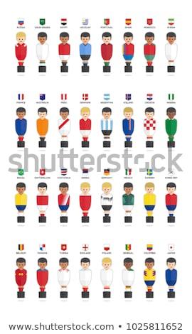 Rusya dünya fincan ülke bayrak futbol Stok fotoğraf © rogistok