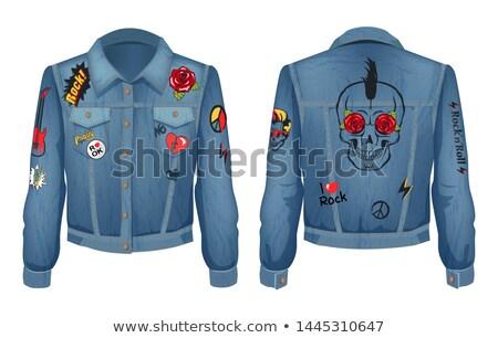 Abbigliamento design rock rotolare stile colore Foto d'archivio © robuart