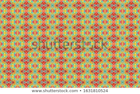 India culture hand drawn doodles seamless pattern. Indian backgraund Stock photo © balabolka