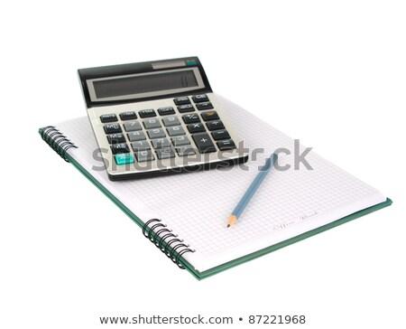 Menetrend izolált fehér adat diagram különböző Stock fotó © robuart