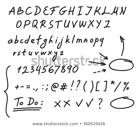 Question What If Handwritten With Black Marker Stock photo © ivelin