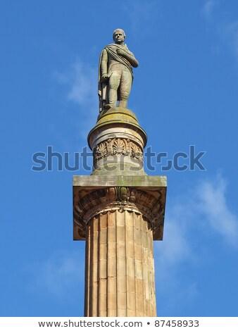 Scott monument, Glasgow Stock photo © claudiodivizia