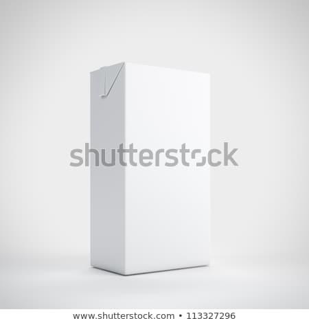 Envases leche blanco jugo otro bebidas Foto stock © magraphics