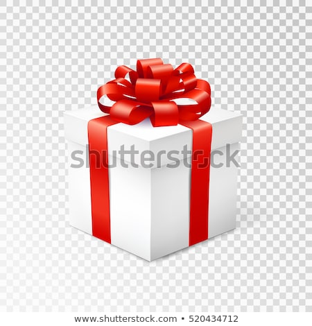Gift Card Color Bow Isolated Transparent Background Stock photo © cammep