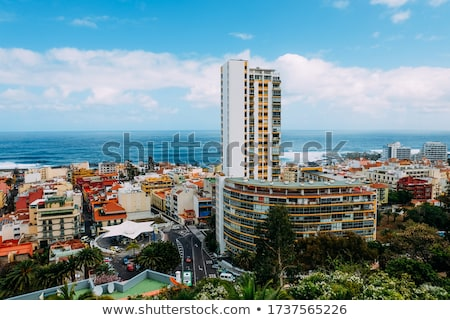View from the height of the city on the Atlantic coast. Tenerife Stock photo © vlad_star