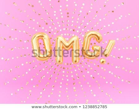 uitroepteken · 3D · gouden · teken · geïsoleerd · witte - stockfoto © djmilic
