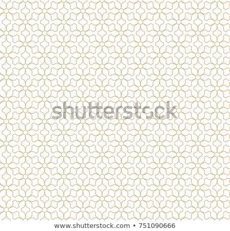 sin · costura · vector · dorado · textura · floral · patrón - foto stock © iaroslava