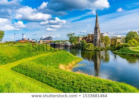 église Copenhague Danemark croissant anglais congrégation Photo stock © borisb17