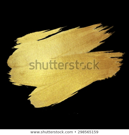Coloured Watercolor Background. Black and gold brush strokes Stock photo © Natalia_1947