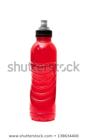 спортивных витамин пить пластиковых бутылку изолированный Сток-фото © albund