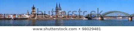 Kerk onderstelling Duitsland gebouw stad Stockfoto © borisb17