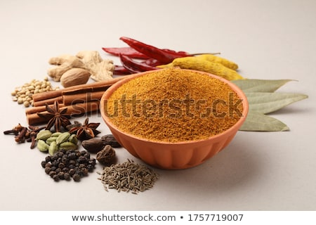 Colorful mix of spices Stock photo © grafvision
