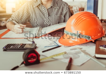 Construction concept of Engineer or architect meeting for projec Stock photo © Freedomz