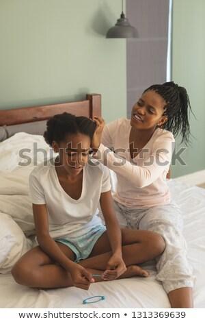 Vorderseite · Ansicht · glücklich · Mutter · Tochter - stock foto © wavebreak_media