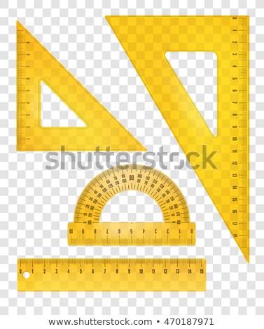 vector illustration of drafting tools stock photo © sonya_illustrations