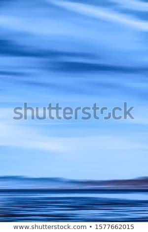 Soyut okyanus duvar uzun pozlama görmek Stok fotoğraf © Anneleven