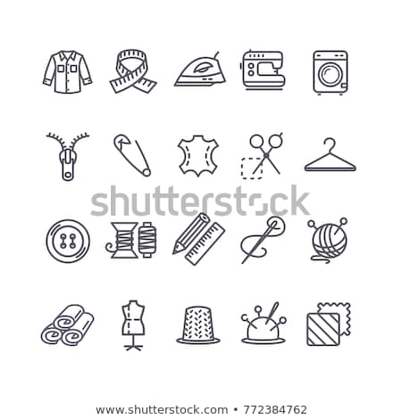 Dummy For Measure Icon Vector Outline Illustration Stock photo © pikepicture