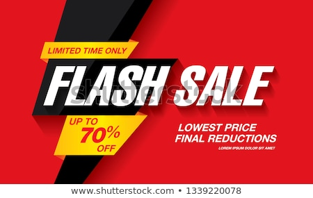Big Sale Clearance and Discounts in Electronics Stock photo © robuart