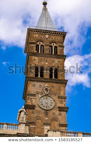 Detail of the historical Basilica Papale di Santa Maria Maggiore Stock photo © boggy