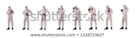 sądowy · specjalista · garnitur · zdjęć · przestępczości - zdjęcia stock © lightpoet