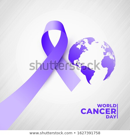 4th of july world cancer day poster design Stock photo © SArts