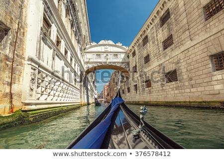 橋 · ヴェネツィア · イタリア · 伝説 · 愛好家 · 愛 - ストックフォト © wjarek