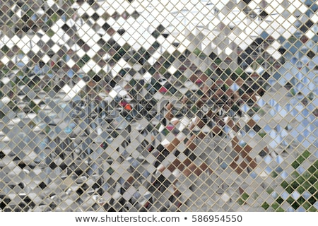 зеркало мозаика шаблон стены дворец Бангкок Сток-фото © timbrk