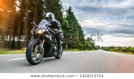 Motorbiker Stock photo © sahua