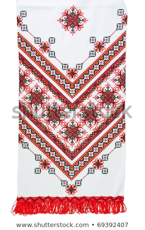 embroidered towel traditional  Stock photo © tottoro