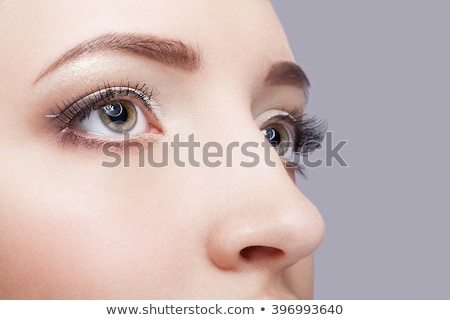 girls eye zone make up stock photo © zastavkin