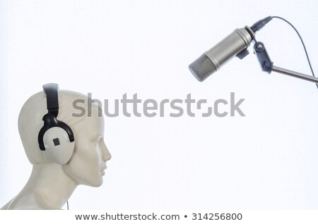 Female mannequin with headset Stock photo © williv