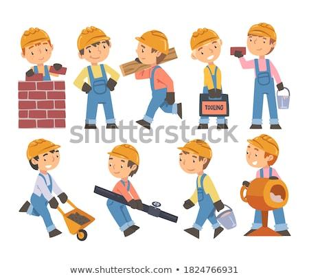 repairmen in action Stock photo © photography33