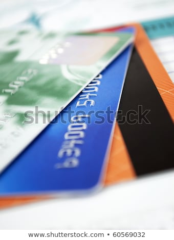 Closer look at credit card Stock photo © REDPIXEL