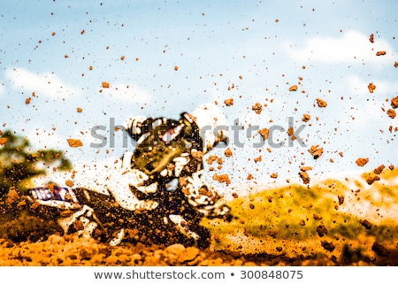 MX mud stock photo © Sportlibrary