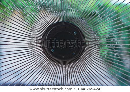 Stock photo: Blur Abstract Of A Fan Grate