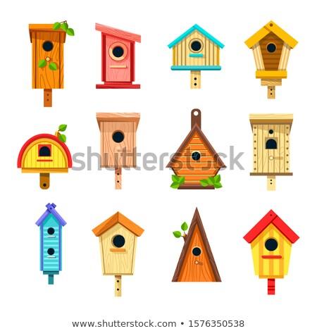 birdhouse in tree stock photo © mikdam