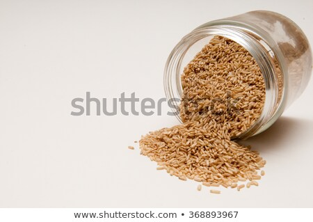 Rice spilling from jar Stock photo © photography33