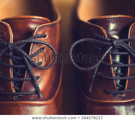 Mens shoes with stretchers Stock photo © Hofmeester