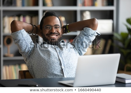 Businessman relief Stock photo © photosebia